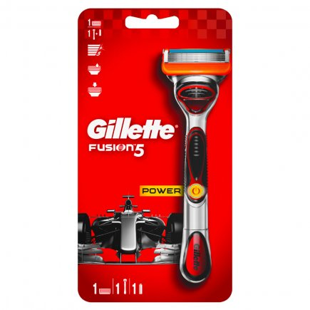 Станок Gillette FUSION 5 Power + 1 касета